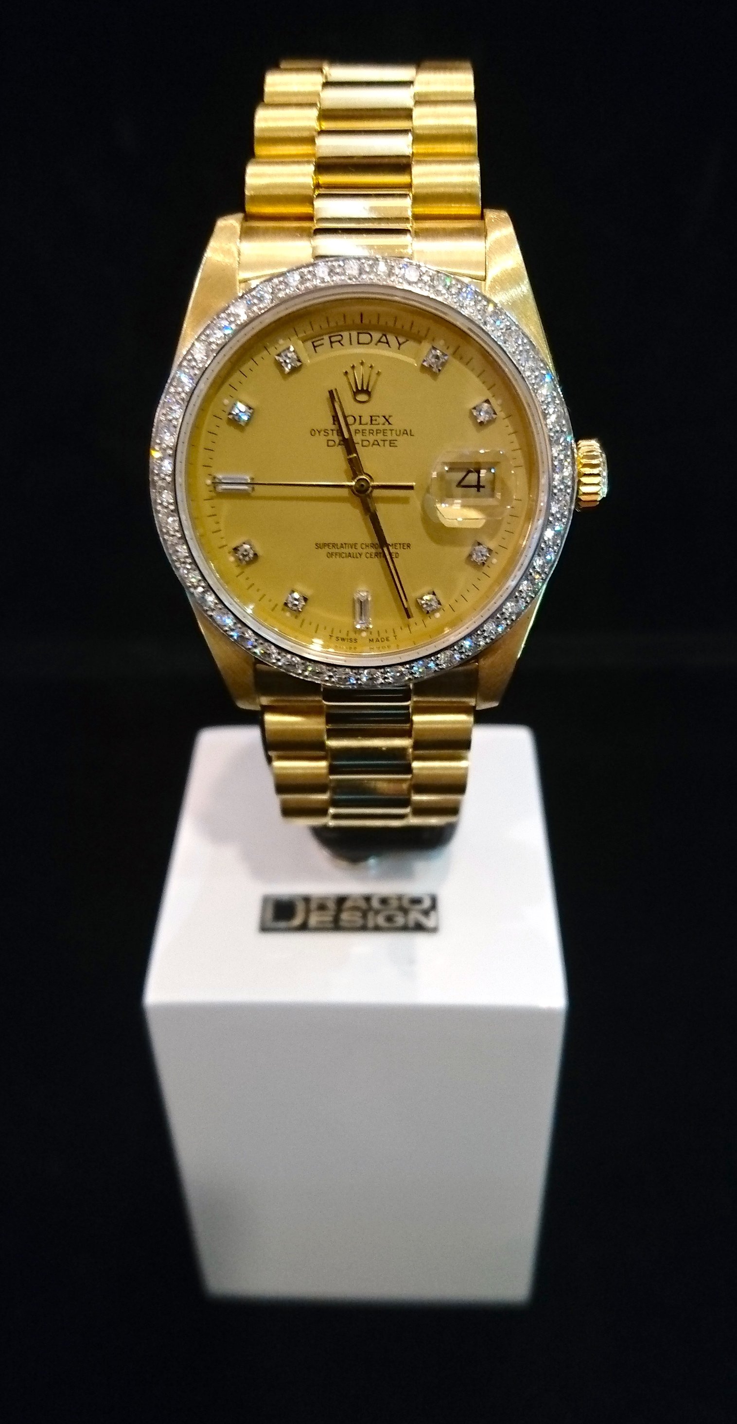 Rolex Date-Just with Diamond Model: 18048